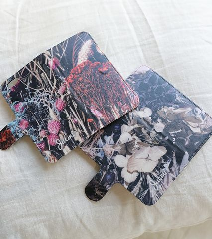 Dried Flower Wallet iPhone Case