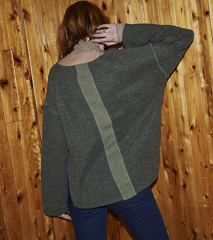 Knit-sew Bell Sleeve