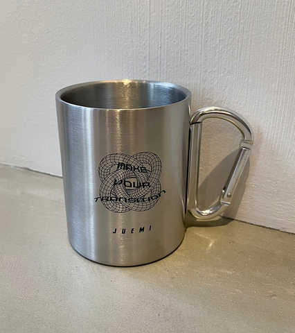 Twisted Polyhedron Stainless Mug
