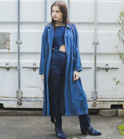 SOMETHING LIGHT DENIM COAT
