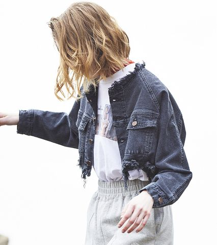 Something×Juemi DAMAGE DENIM JACKET
