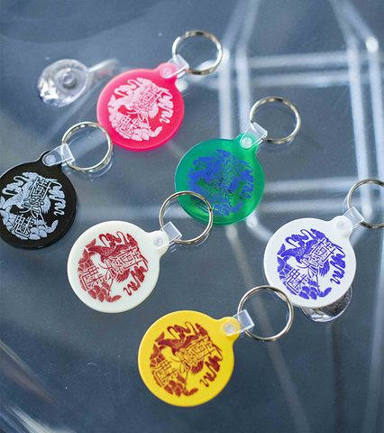 HOU-OU 樹笑魅 Rubber Key Ring