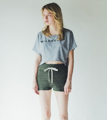 Heather Knit Shorts