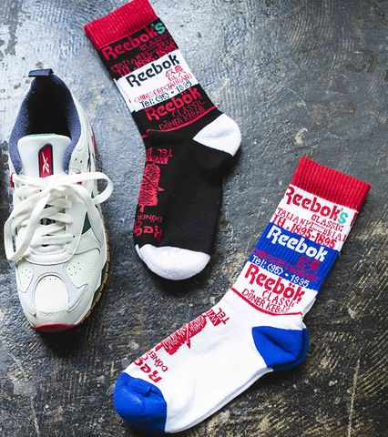 Reebok CL FD Graphic Clue Socks