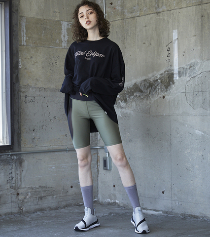 PUMA EVID HIGH-WAISTED SHORT LEGGINGS