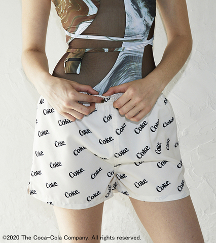 【SW SALE】Coke Pattern Outdoor Shorts