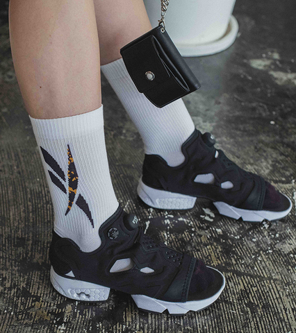 Reebok CL Graphic Socks