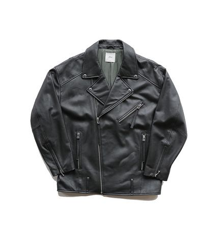 Big Silhouette Moto Jacket