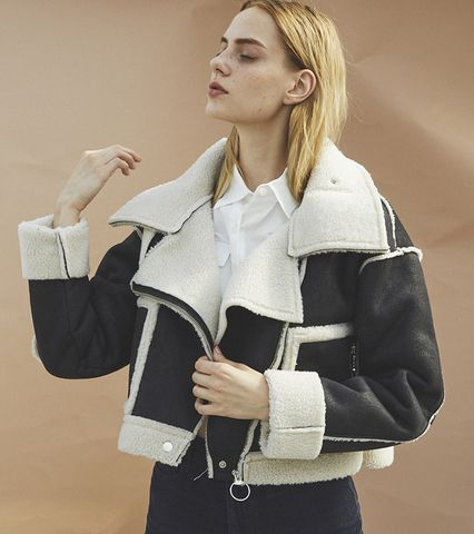 Short Mouton Jacket