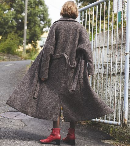 Long Double Coat
